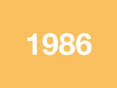 Voorstelling 1986