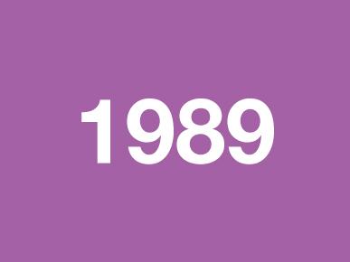 Voorstelling 1989